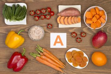 vitamine pentru legume vizuale)