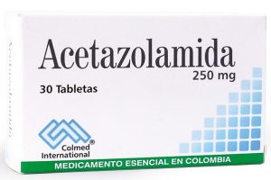 Acetazolamida comprimate 250 mg