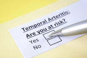 Arterita temporală sau arterita Horton
