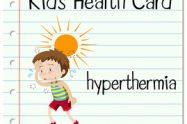 Hipertermie la copii