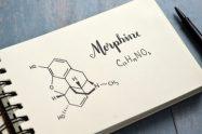 Morfina -structura chimica