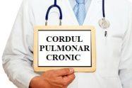 imagine cu cordul pulmonar cronic