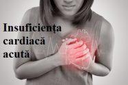 manifestari in insuficiența cardiacă acută